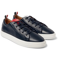 Thom Browne Leather Low Top Sneakers