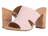 Franco Sarto Jeanette Chiffon White Polly Lux Leather Women's Sandals Pink