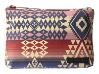 Pendleton Canopy Canvas Zip Pouch Canyonlands Tote Handbags Red