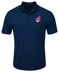 Profile Big And Tall Cleveland Indians First Hit Polo Navy