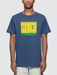 Brain Dead Equipment T Shirt Blue
