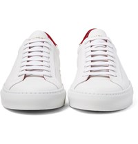 Givenchy Urban Street Two Tone Leather Sneakers White