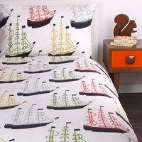 Orla Kiely Kids Around The World Duvet Set Single