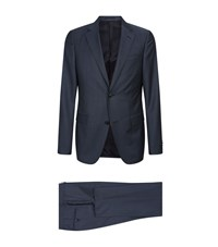 Zegna Wool Mohair Two Piece Suit Grey