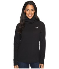 The North Face Novelty Glacier Pullover Tnf Black Women's Long Sleeve Pullover