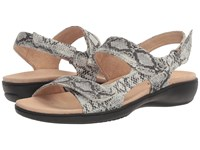 Trotters Kip Off White Snake Women's Sandals Bone