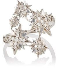 Sara Weinstock Women's Starburst Ring White Gold White Gold