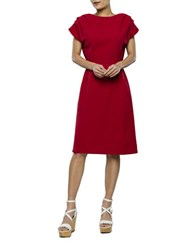 2Nd Day James Fit And Flare Dress Red