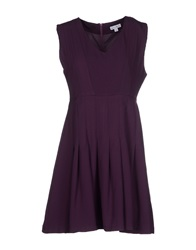 Kling Short Dresses Purple