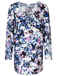 Windsmoor Lily Print Tunic Top Multi White