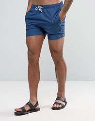 Oiler And Boiler Tuckernuck Mid Length Swim Shorts In Navy Navy