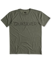 Quiksilver Thin Mark T Shirt Dusty Olive