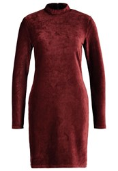 Vero Moda Vmcorduroy Shift Dress Decadent Chocolate Dark Brown