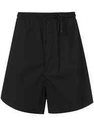Unravel Project Elasticated Waist Shorts Black