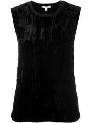 Dagmar 'Eve' Velvet Top Black