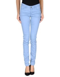 Fracomina Denim Pants Pastel Blue
