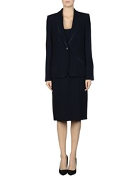 Gai Mattiolo Suits And Jackets Outfits Women Dark Blue