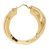 Acne Studios Gold Single Alana Earring