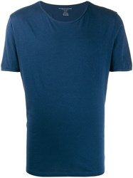Majestic Filatures Jersey T Shirt Blue