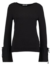 Pieces Pcdea Long Sleeved Top Black