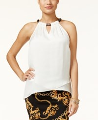 Thalia Sodi Chain Neck Top Only At Macy's Cloud