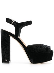 Sergio Rossi Monica Sandals Black