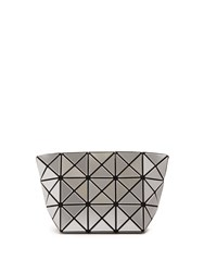 Issey Miyake Prism Cosmetics Pouch Silver