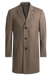 Baldessarini Coat With Wool And Cashmere Grey