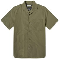 Neighborhood Short Sleeve Aloha Shirt Green