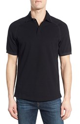 Men's Victorinox Swiss Army 'Nomad' Slim Fit Polo Black