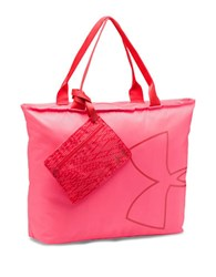 Under Armour Big Logo Tote Bag Pink