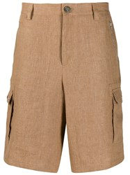 Brunello Cucinelli Cargo Shorts Neutrals