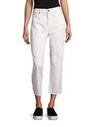 Vince 1961 Union Slouch Pants White Denim