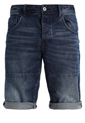 Solid Greg Denim Shorts Dark Use Dark Blue