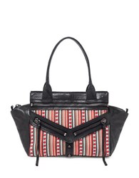 Botkier Trigger Small Leather Satchel Tribal