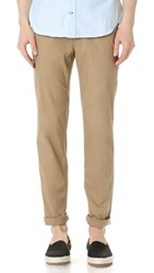 Ben Sherman Slim Stretch Chino Pants Stone