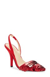 Imagine Vince Camuto By Lidya Pump Crimson Leather
