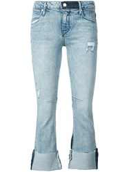Rta Prince Cropped Jeans Blue