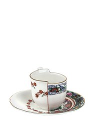 Seletti Hybrid Tamara Coffee Cup And Saucer