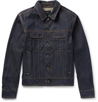 Rag And Bone Selvedge Denim Jacket Dark Denim