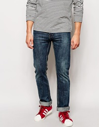 Bellfield Slim Fit Jeans Blue