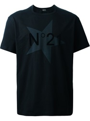 N 21 N.21 Star Logo Print T Shirt Black