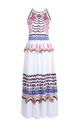 Temperley London Spellbound Peplum Dress White