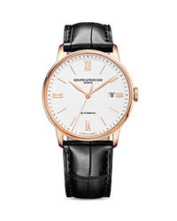 Baume And Mercier Classima Automatic Watch 39Mm White