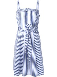Polo Ralph Lauren Striped Dress White