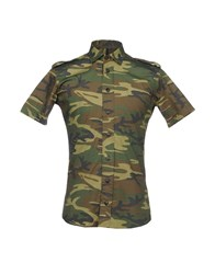 Takeshy Kurosawa Shirts Military Green