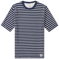 Wood Wood Herman Tee Blue