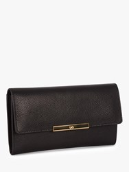Jaeger Leather Long Purse Black