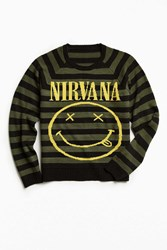 Urban Outfitters Nirvana Sweater Olive