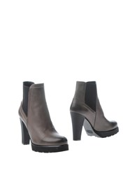 Maria Cristina Footwear Ankle Boots Women Dove Grey